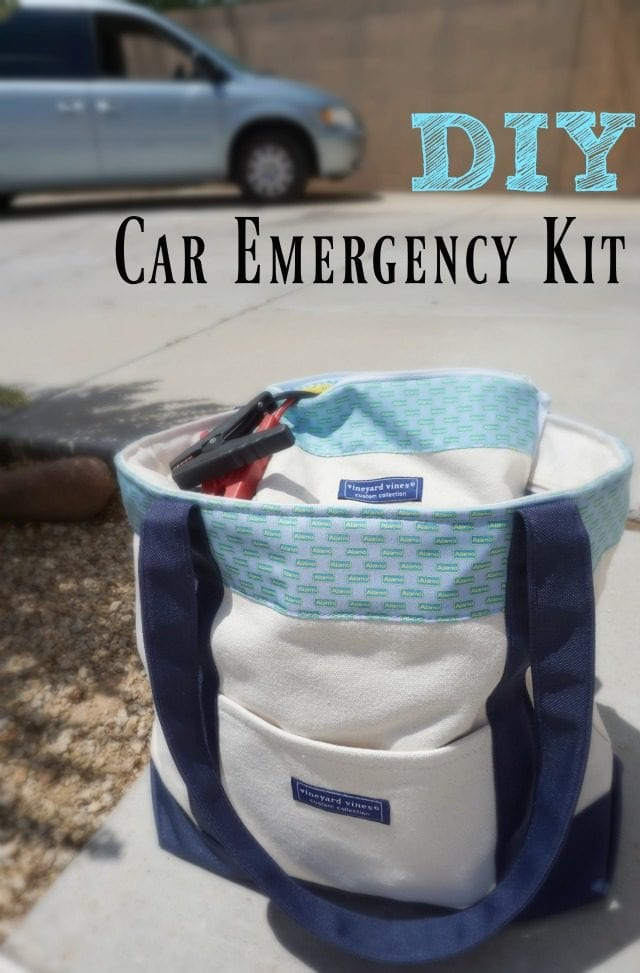 Diy Car Emergency Kit Shaping Up To Be A Mom