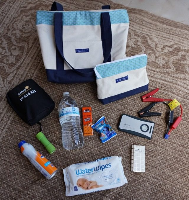DIY Car Emergency Kit Contents