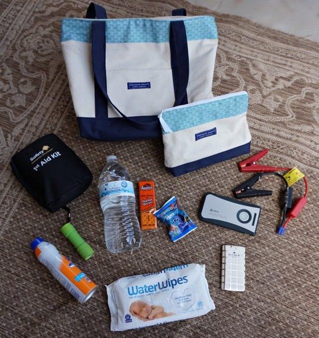 DIY Car Emergency Kit Contents