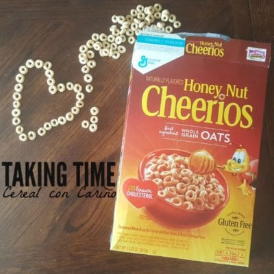 Taking Time with Cereal con Cariño