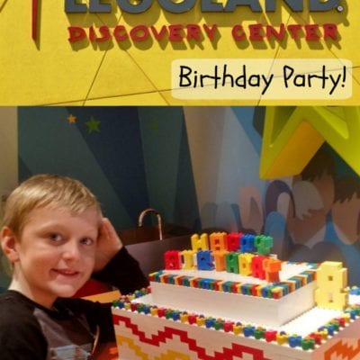 LEGOLAND Discovery Center Birthday Party