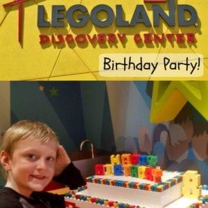 LEGOLAND Discovery Center Birthday Party