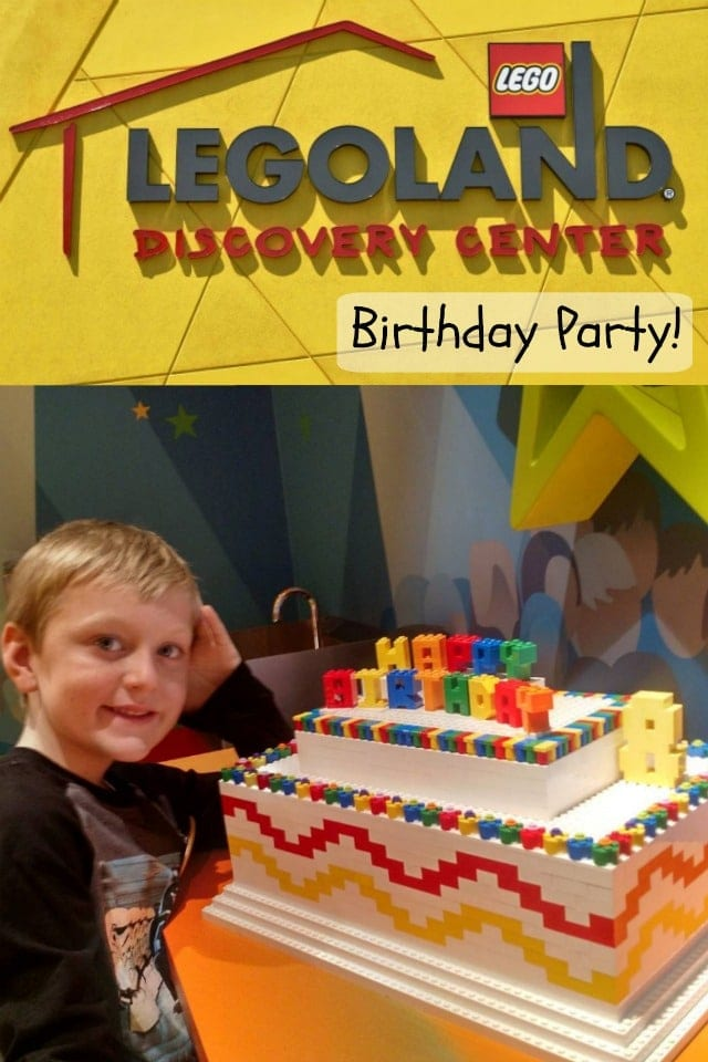 LEGOLAND Discovery Center Birthday Party - Shaping Up To ...