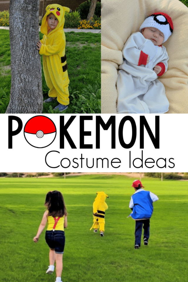 Little Pokemon fans will love dressing up like their favorite characters! Use these tips to put together the best Pokemon costume for Halloween, Comic-Con, or a Pokemon-theme birthday party! #Pokemon #Costume