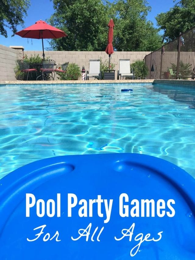 How many of these pool party games did you play when you were younger? Come find a new one to try! (ad) #SwimWays #IC