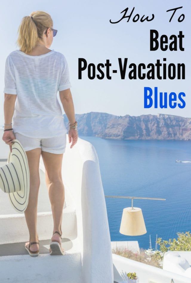 "Do you experience the depression that follows a great vacation? Nobody likes getting back to regular life, but these tips will help you beat the post-vacation blues and maybe even make ""regular life"" better than ever!"
