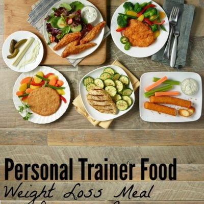 Meal Delivery Weight Loss with Personal Trainer Food