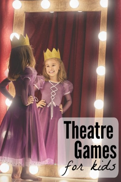 Curtain Call Camp: Theatre Games for Kids
