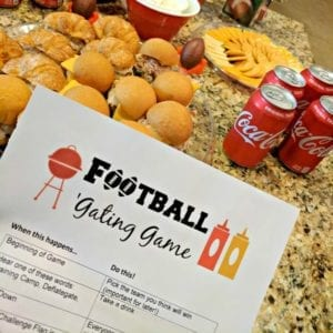 The Football 'Gating Game: a Must-Have for Your Next Football Party