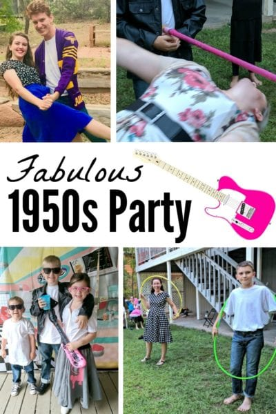 How to Throw a Fabulous 1950s Party