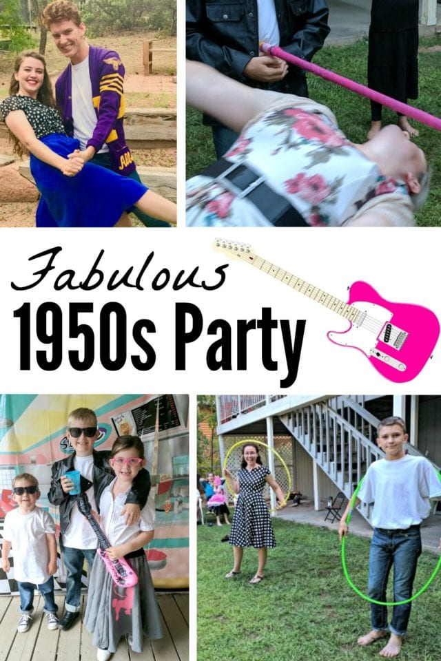 Throwing a 1950s theme party is so much fun (and so easy)! Check out all the details like where to get 1950s party supplies and decorations, what to wear, and what games to play! Don't forget the Rock & Roll music!