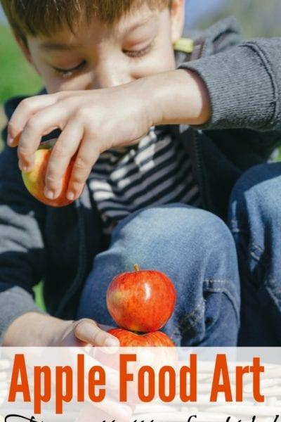 Apple Food Art For Kids