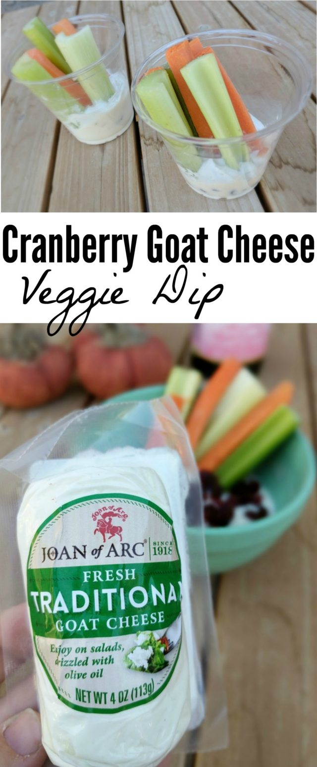 The key to a great party appetizer is a simple recipe that looks fancy! This simple party appetizer combines goat cheese and cranberries to make the perfect holiday dip, and the presentation is practical and attractive. You'll definitely want to include these at your next party! @JoanofArcBrie #JoanofArcGoat #ad