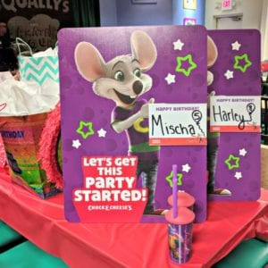 Have a Stress Free Party with Chuck E. Cheese's