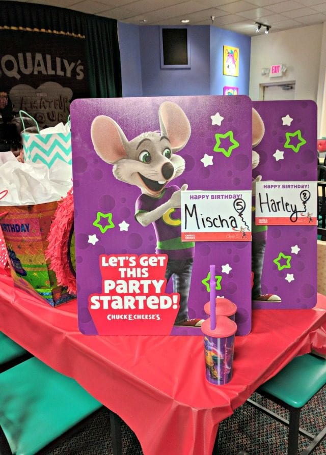 Have a Stress Free Party with Chuck E Cheeses Shaping Up To Be A Mom