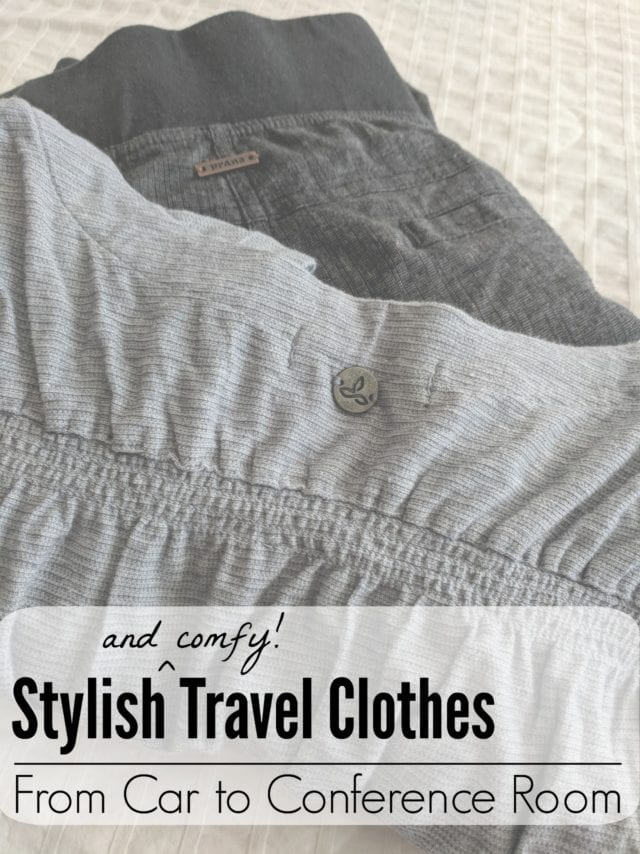 Stylish travel clothes- when you need to go from car to conference! #TravelprAna #prAnaSpring18 #sponsored 15% off with code TRMTS18