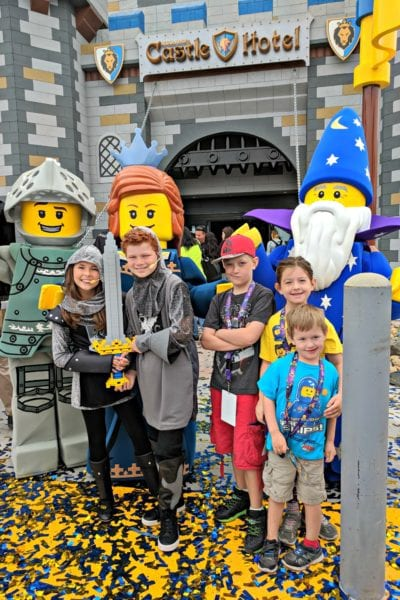 LEGOLAND Castle Hotel now open