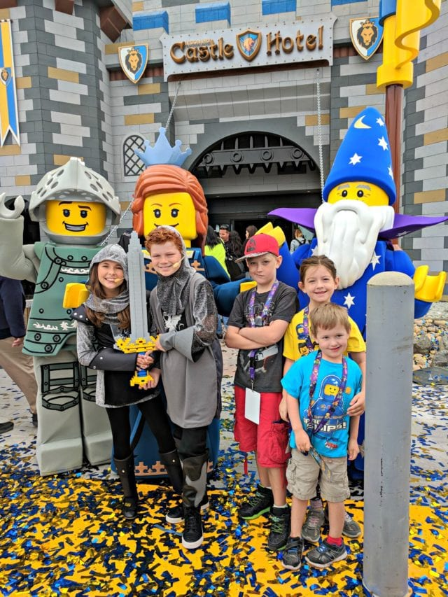 We were thrilled to visit LEGOLAND for the Grand Opening of the LEGOLAND Castle Hotel! #LEGOLANDPartner #LEGOLANDCA #sponsored