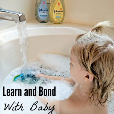 Great Ways to Teach and Bond with your Baby at Bathtime