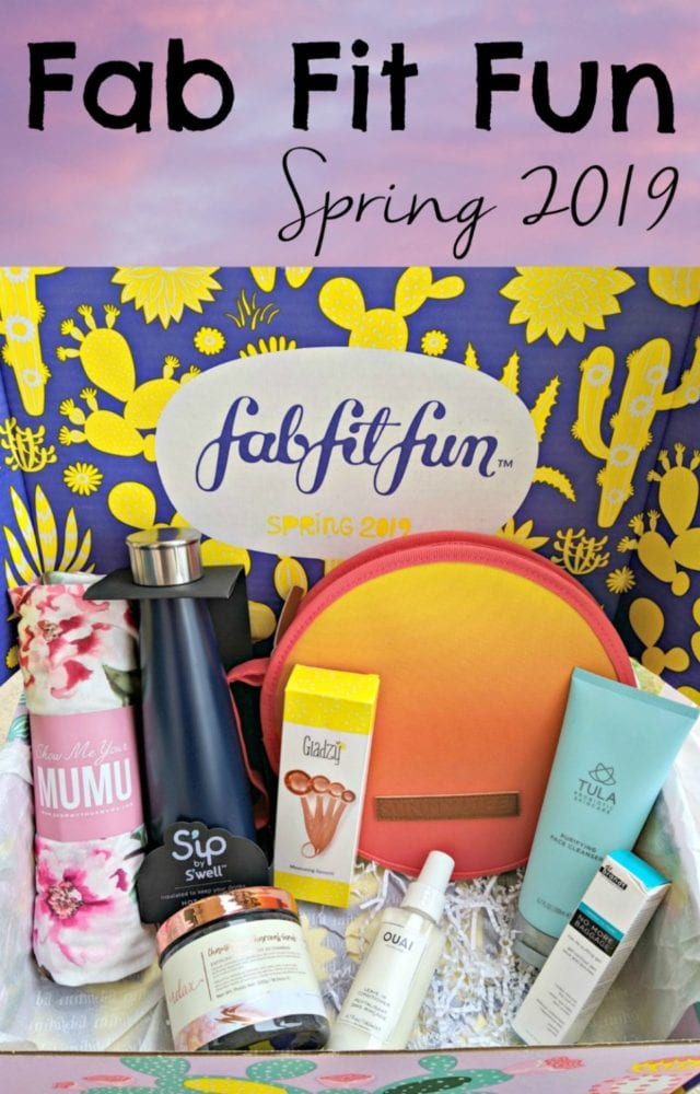 Spring is in the air, and my FabFitFun subscription box is in my mailbox! I can't wait to show you the fun things that were inside!