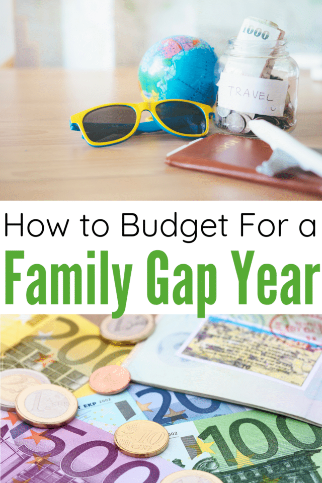 If you've ever wanted to travel the world with your family, here's how you can afford full-time family travel! I'm sharing our Family Gap Year Budget along with some great money-saving travel tips!