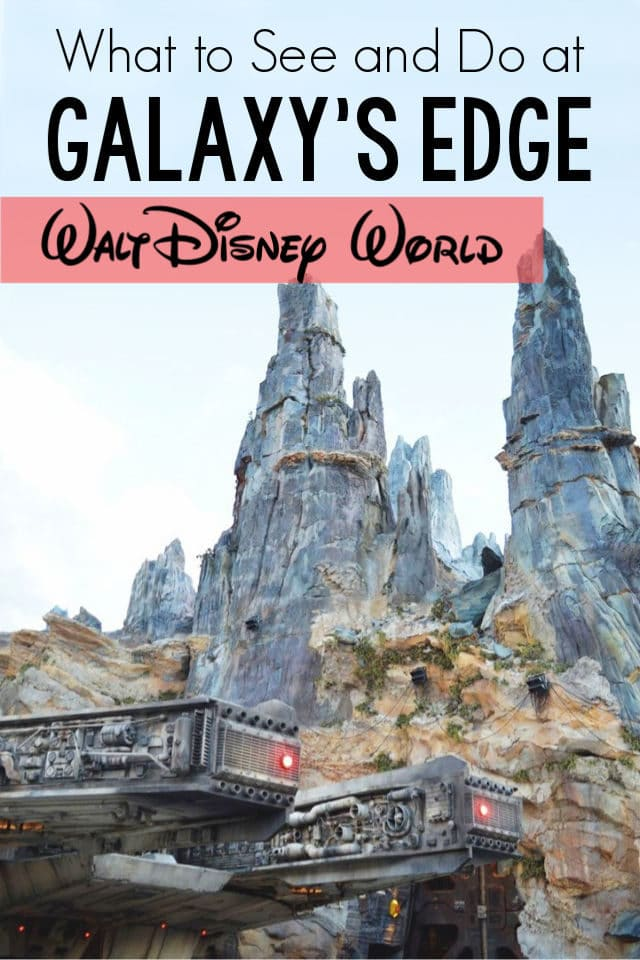 Excited for the opening of Galaxy's Edge at Walt Disney World? Come see a sneak peek of all the fun, exciting, and delicious things to see and do there! #Disney #Travel #WDW