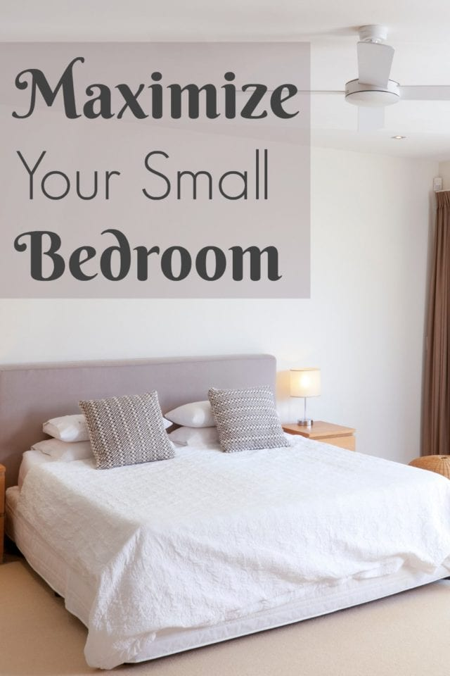 Your master bedroom should be a place of peace and comfort- even if it's on the small side! Come get some tips on how to arrange and decorate a space of any size so you can relax!