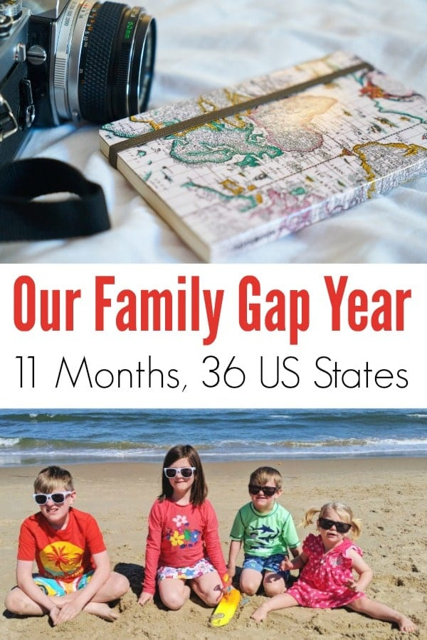 Our family of 6 traveled through 36 states in 11 months- come find out where we went and what we saw!