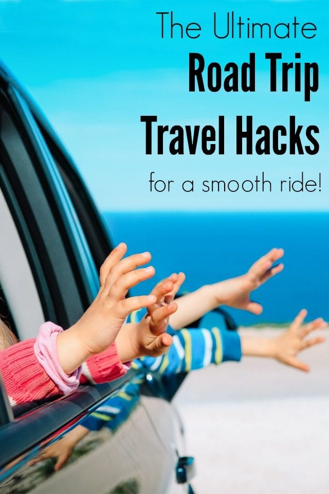 Headed on a road trip? These are all of our road trip car hacks, learned from over a year of full-time family travel! Use these tips for the smoothest ride!