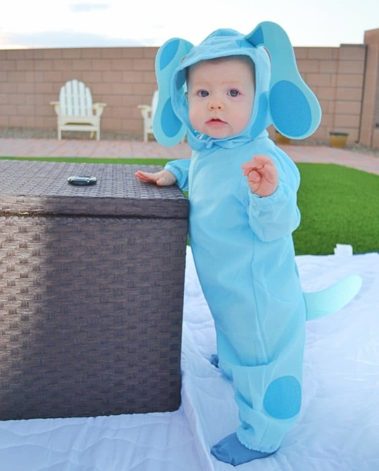 Blue's Clues Blue Costume