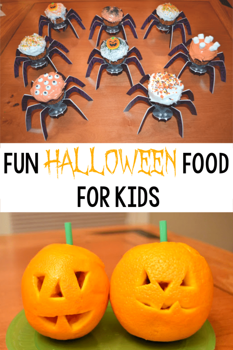 Lots of cute ideas for easy Halloween food fun you can make (and eat!) with kids of all ages! #Halloween #kidsactivities