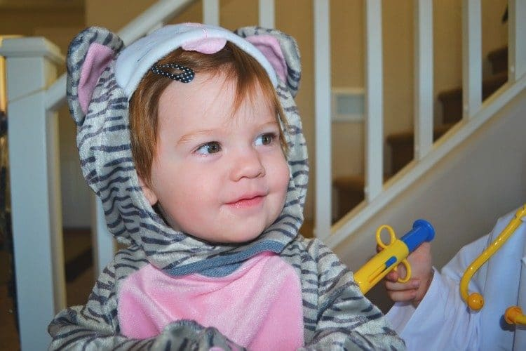 Kids kitten costume