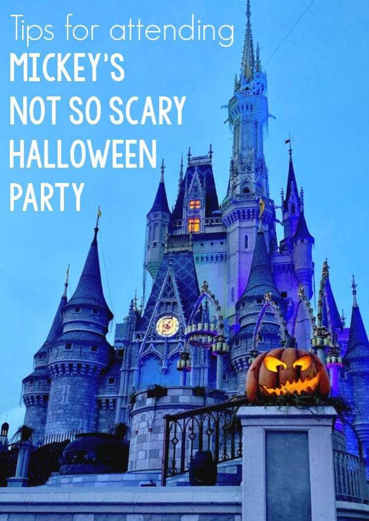 Cinderella's castle decorated for Halloween
