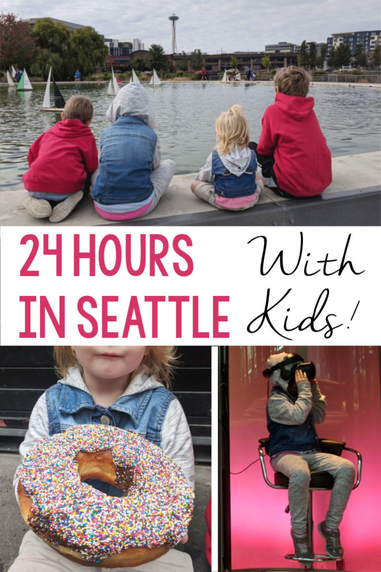 24 Hours in Seattle with Kids