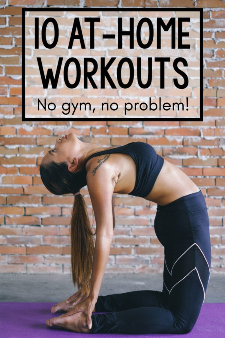 Best at-home workouts for moms