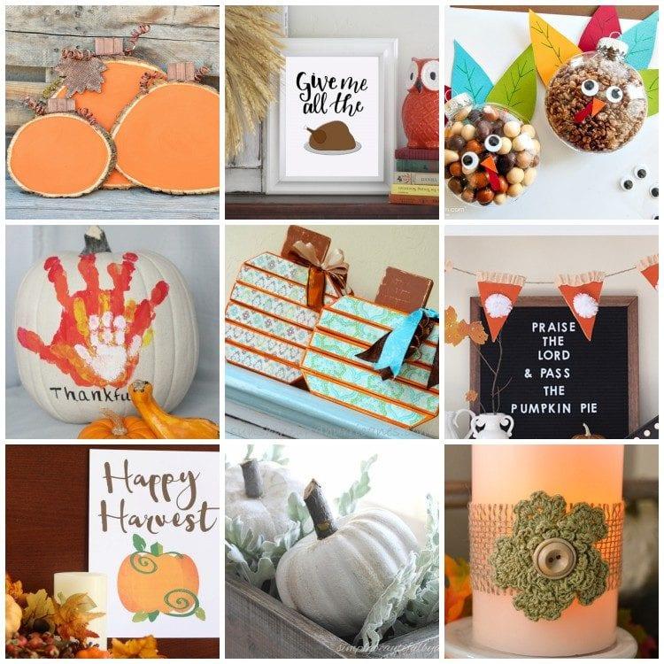 Thanksgiving decorations