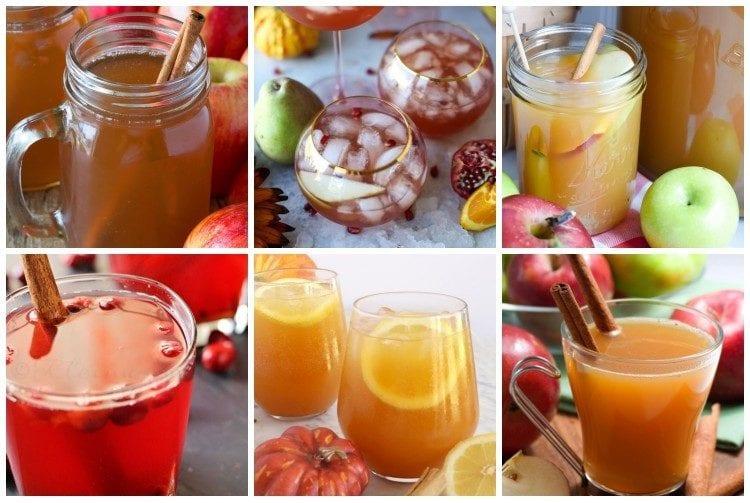 Thanksgiving drinks