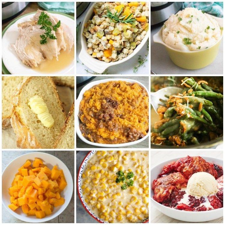 Thanksgiving Instant Pot recipes