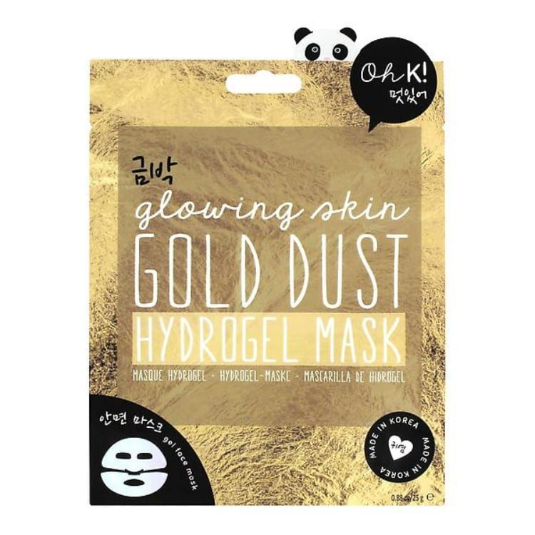 gold dust face mask