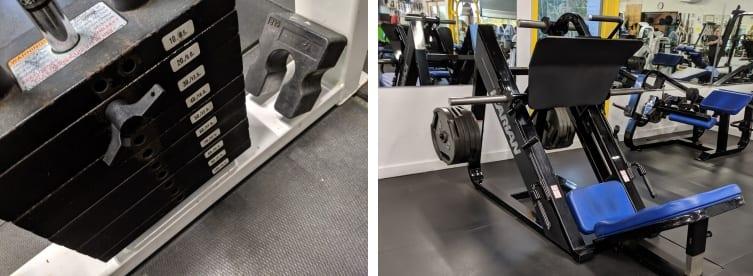 adding weight to machines