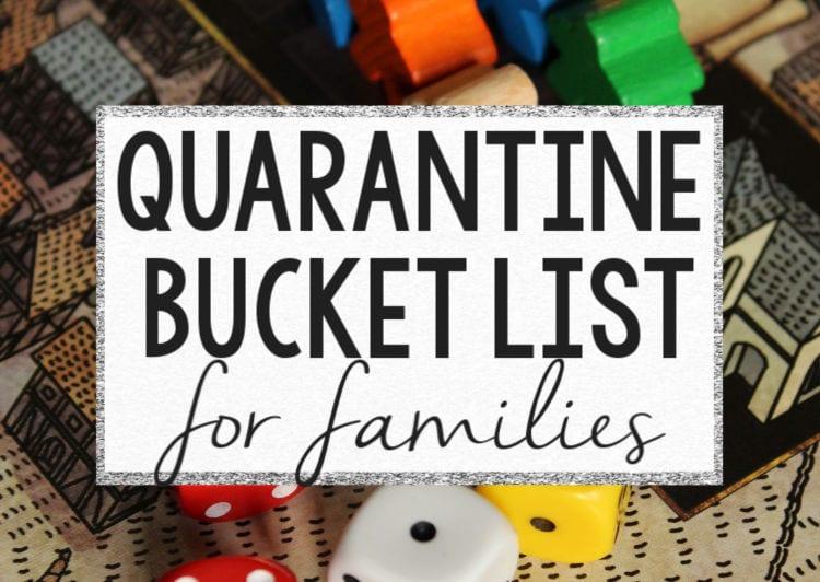 quarantine bucket list header