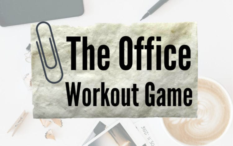 The Office workout game graphic