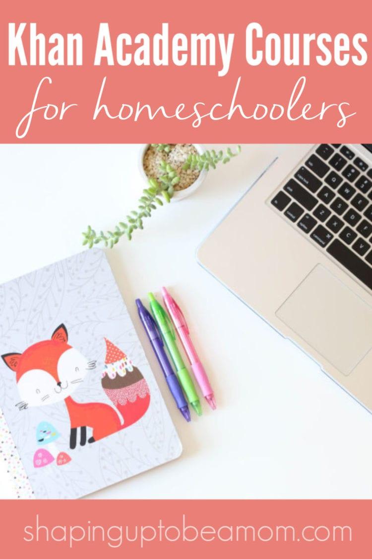 khan academy courses for homeschool