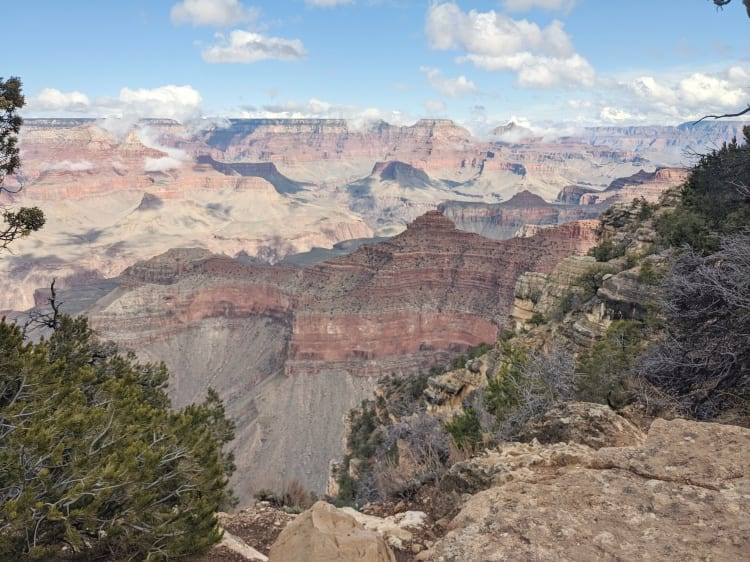 view at Grand Canyon