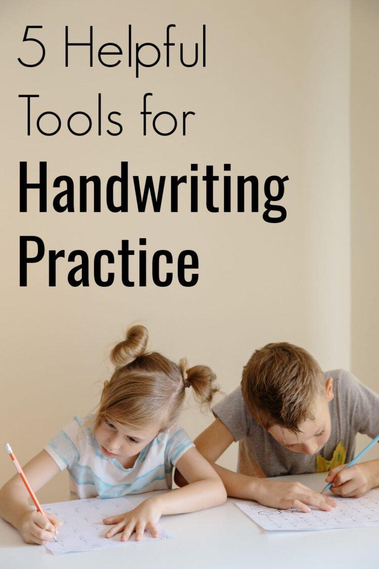 handwriting practice tools