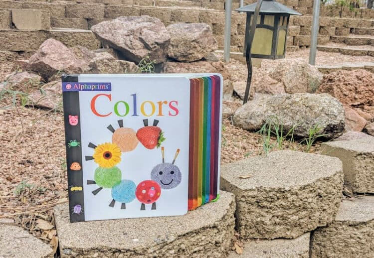 Alphaprints Colors book