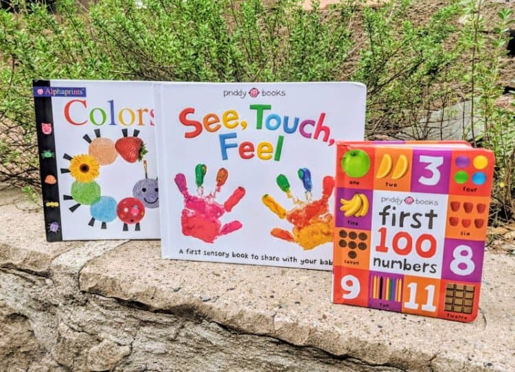 Sensory books for toddlers, babies, and preschoolers