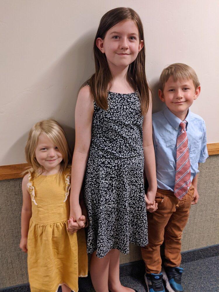 3 smart kiddos